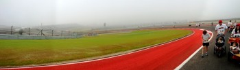 2012 Formula Run at CoTA, looking back from Turn 8 to 7...