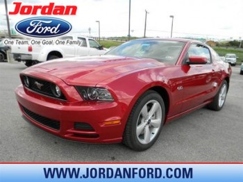 Candy Red Mustang 5.0 teaser ad