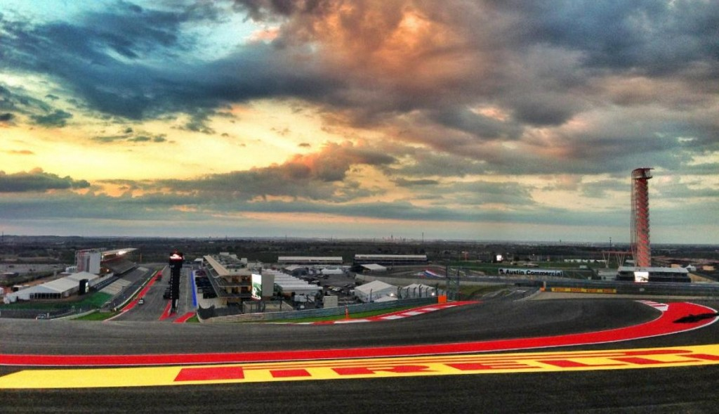 Circuit of The Americas, a sunset in anticipation of Formula 1 racing success!