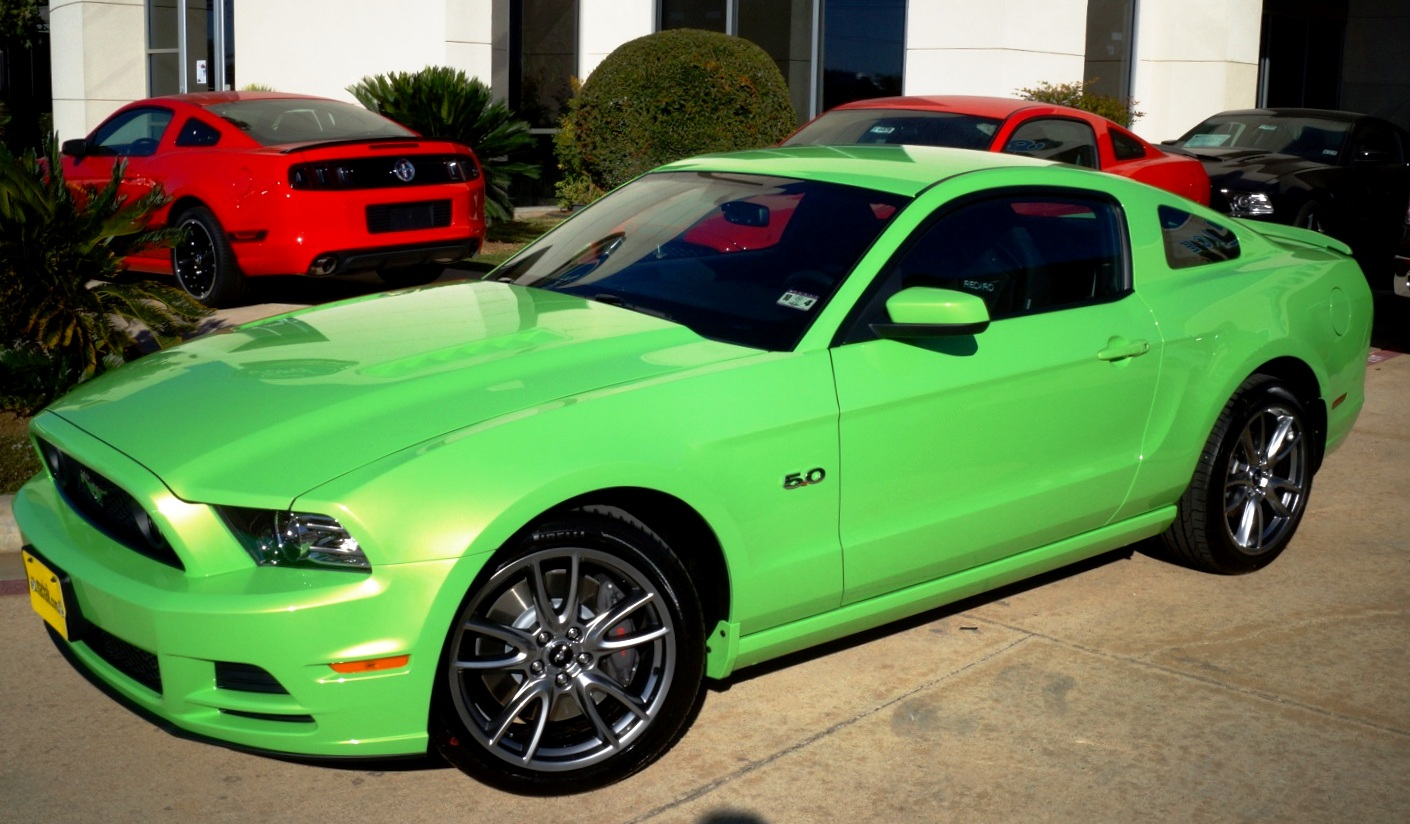 mustang black and lime green mustang purple and black mustang orange - Mustang 2014 Purple