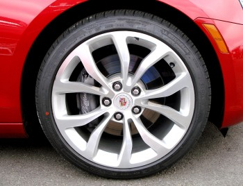 Michelin Primacy MXM4 tires on 2013 Cadillac ATS Sedan, at CoTA - December 2012