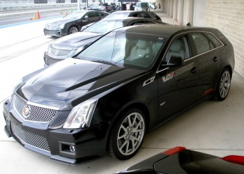 Cadillac CTS-V Wagon, manual transmission, at CoTA, during the V-Lab Series in December 2012