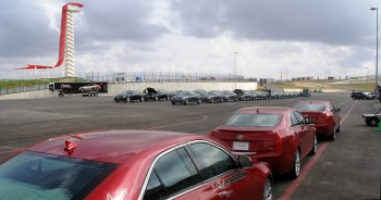 Vast Quantity of Cadillacs at V-Lab Series, CoTA - December 2012