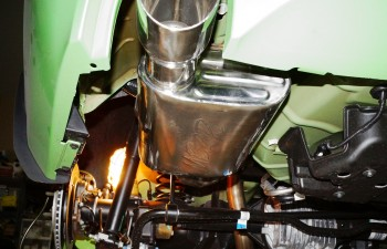 MBRP axle back exhaust