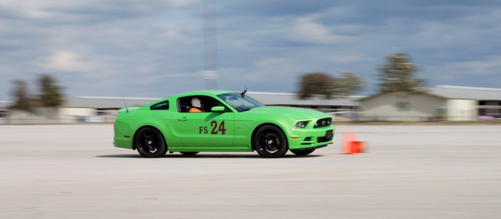 Froggy's debut at SASCA's 11th AutoX of 2012 (photo courtesy of FR-S driver Nathan)