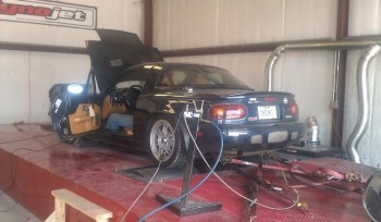 Lone Star Dyno doing a Miata dyno pull - 1