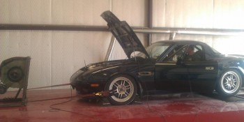 Lone Star Dyno doing a Miata dyno pull - 2