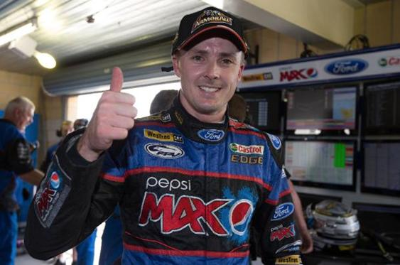Mark 'Frosty' Winterbottom giving CoTA his thumbs up!