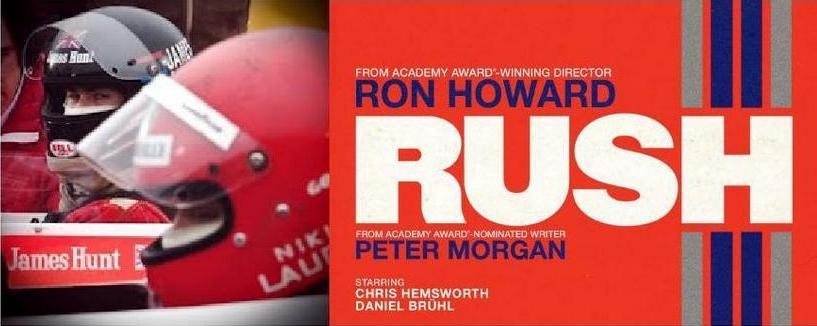 RUSH, the Formula 1 Lauda-Hunt Story - by Ron Howard, The Poster