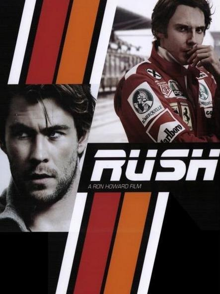 RUSH, the Formula 1 Lauda-Hunt Story - by Ron Howard, another Poster