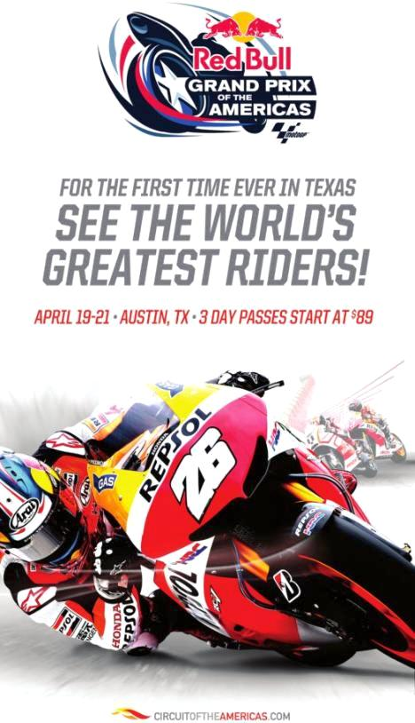 Red Bull Grand Prix of the Americas - promo