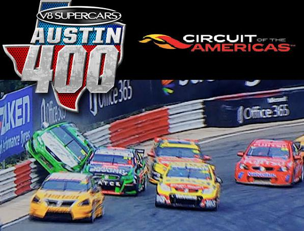V8 Supercars Austin 400 - CoTA video promo
