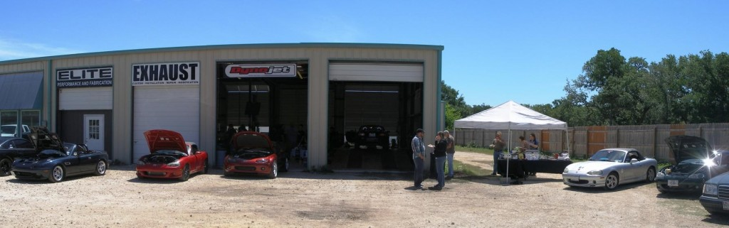 Lone Star Dyno front panorama