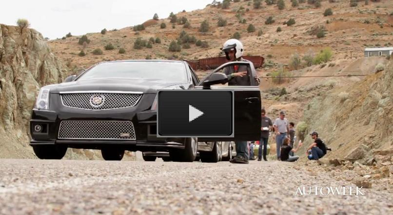 AutoWeeks' Cadillac CTS-V at the Spectre 341 Challenge
