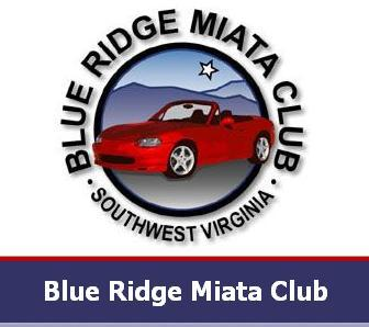 Blue Ridge Miata Club logo