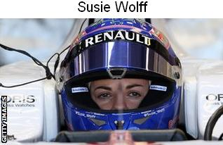 Susie Wolff - F1 Williams Team Development Driver